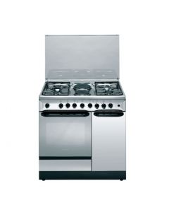 Ariston C911 N1 (X)/S 4 Gas + 2 Electric Combination Cooker - Stainless Steel,Width (mm)900 ,Height (mm)850 Depth (mm)600 ,1yr warrant